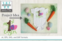 Easter SVG - My First Easter Product Image 1