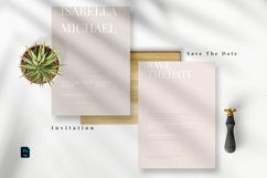 Minimal Modern Invitation Set Product Image 3