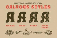 Calvous - Slab Serif Typeface Product Image 3