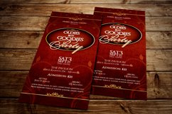 Vintage Party Ticket Template Product Image 3
