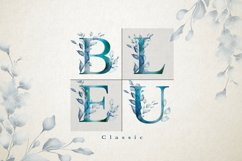Classic Blue Watercolor Botanical Product Image 6
