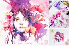 Orchid Fluide Watercolor Collection Product Image 4
