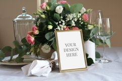 Table Number Mockup, Card Mockup,Wedding Stationary Mockup Product Image 1