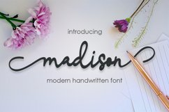 madison script Product Image 1