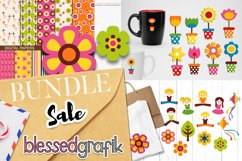 Spring and Summer Illustrations Bundle - Huge Collection Product Image 2