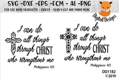 Philippians 4-13 SVG Product Image 1