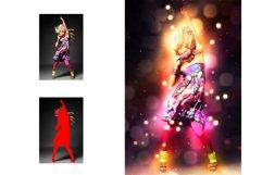 Bokeh Light Photoshop Action Product Image 2