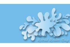 set bundle vector background . wave design illustration Product Image 2