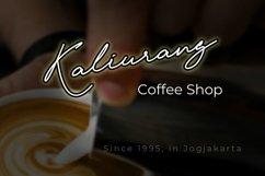 Krakatau Monoline Signature Font Product Image 2