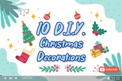 Ring Bells - Christmas Font Product Image 3