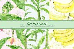 Watercolor Banana Clipart Product Image 6