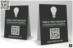 Table Tent Mockup Product Image 5