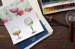 Watercolor alcohol vector set Product Image 4