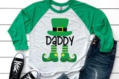 Daddy Leprechaun - St Patrick's Day SVG Product Image 2
