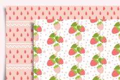 Strawberry Digital Paper Seamless Product Image 5