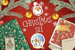 Christmas Watercolor Set Product Image 1