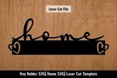 Home SVG| Key Holder SVG| Laser cutting files Product Image 2