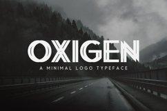 Oxigen | A Minimal Logo Typeface Product Image 1