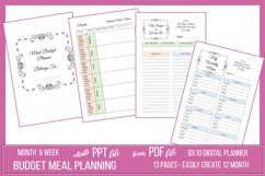 Budget Friendly Meal Planner Package Product Image 1