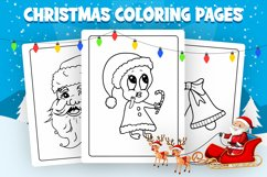 Christmas Coloring Pages - KDP Interior Product Image 3