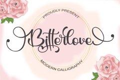 Bitterlove - Modern Calligraphy Product Image 1
