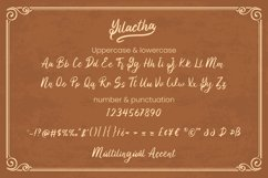 Yilactha - Script Font Product Image 6