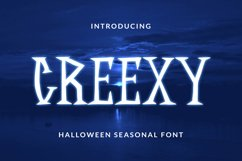 CREEXY Font Product Image 1