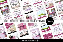 Click-Worthy Blogger Pinterest Pin Pack | Canva Product Image 5
