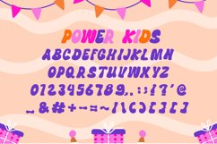 Power Kids - Cute Display Font Product Image 4