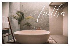 Bathey Calligraphy Font Product Image 3