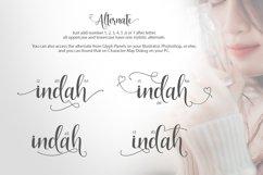 Indah Script Product Image 4