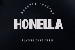 Honella - Playful Sans Serif Product Image 1