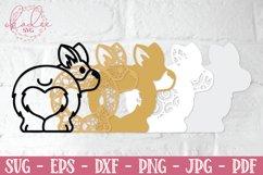 3D Valentine Puppies, Papercut Valentines, 3D Dog SVG Bundle Product Image 2