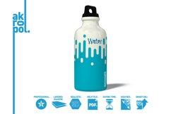 Water Bottle Mock-up Product Image 4