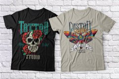 Tattoo Master. Font and graphics. Product Image 6