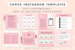 Instagram Canva Templates for Engagement - Blush Pink Product Image 3