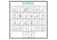 You Gon Learn - A Teaching/School Doodles Font Product Image 3