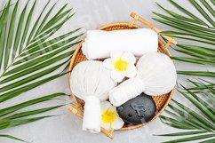 Spa massage Aromatherapy body care background Product Image 1