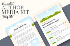 Minimalist Author Media Kit   Media Kit Template Product Image 6