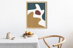 Abstract Shapes Print, Boho Decor, Mid Century Modern Art Product Image 5