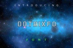 Dotrixfo Font Product Image 1