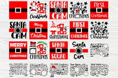 Christmas SVG Bundle, Dear Santa Tray Svg, 1st Christmas Svg Product Image 2