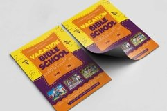 Vacation Bible School A4 Flyer PSD Template Product Image 2