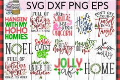 Big Christmas Bundle of 29 SVG DXF PNG EPS Cutting Files #2 Product Image 3