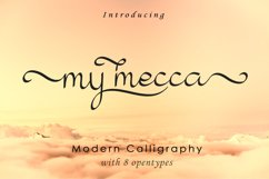 My Mecca | Modern Calligraphy Product Image 1