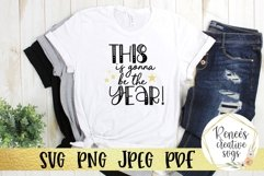 New Years Bundle Vol 1|New Years|SVG Cut File Product Image 4