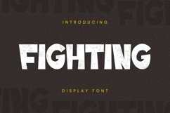 Fighting Font Product Image 3