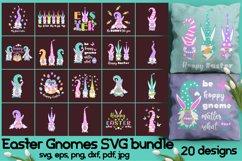Easter gnomes SVG bundle. Product Image 1