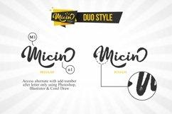 Web Font Micin Script Product Image 2