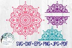 Mandala SVG Bundle | Half Mandala |Personalized Name Mandala Product Image 1